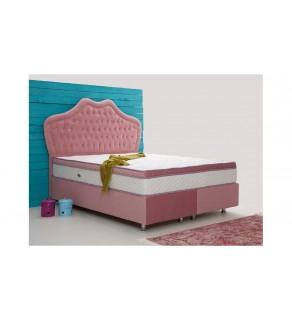Pink Baza + Başlık (160*200)