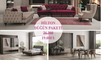 Hilton Düğün Paketi