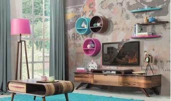 inegöl mobilyasısı Olimpus Duvar Ünitesi
