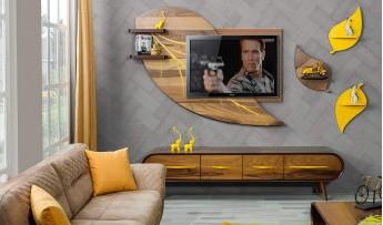 inegöl mobilyasısı Yaprak Duvar Ünitesi