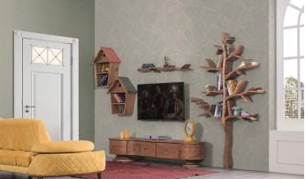 inegöl mobilyasısı Yuvam Duvar Ünitesi