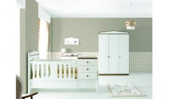 inegöl mobilyasısı Kinopi Bebek Odası Takımı