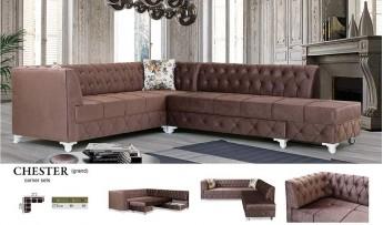 inegöl mobilyasısı Chester Köşe Koltuk Takımı