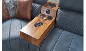 inegöl mobilyasısı Sera Köşe Koltuk Takımı (Müzik Sistemli)