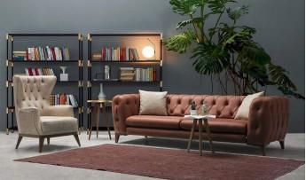 inegöl mobilyasısı Armine Koltuk Takımı (3+3+1)