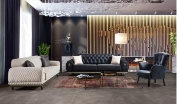 Luxury Koltuk Takımı (3+3+1)