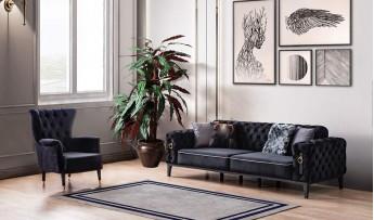 inegöl mobilyasısı Bella Koltuk Takımı (3+3+1)