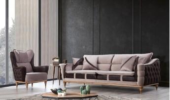 inegöl mobilyasısı Comfort Koltuk Takımı (3+3+1)
