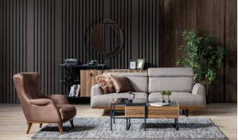 inegöl mobilyasısı Cool Koltuk Takımı (3+3+1)