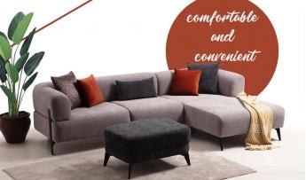 inegöl mobilyasısı Cratos Köşe Koltuk Takımı - (280*180)