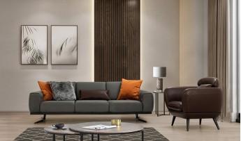 inegöl mobilyasısı Duru Koltuk Takımı (3+3+1)