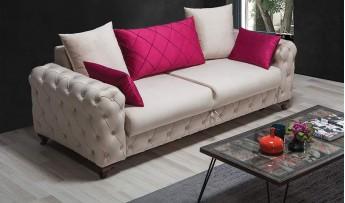inegöl mobilyasısı Eliza Koltuk Takımı (3+3+1)