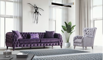 inegöl mobilyasısı Eylül Koltuk Takımı (4+3+1)