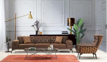 inegöl mobilyasısı Fuji Koltuk Takımı (4+3+1)