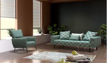 inegöl mobilyasısı Glenda Koltuk Takımı (3+3+1)