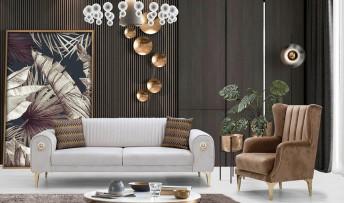 inegöl mobilyasısı Gold Koltuk Takımı (3+3+1)