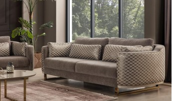 inegöl mobilyasısı Hilal Koltuk Takımı (3+3+1)