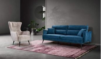 inegöl mobilyasısı Hilda Koltuk Takımı (3+3+1)