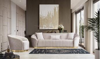 inegöl mobilyasısı Hanzade Koltuk Takımı(3+3+1)