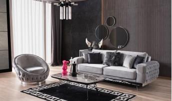 inegöl mobilyasısı Helen Koltuk Takımı (3+3+1)
