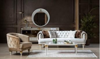 inegöl mobilyasısı Jaguar Koltuk Takımı (3+3+1)