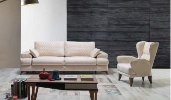 inegöl mobilyasısı Kelebek Koltuk Takımı (3+3+1)