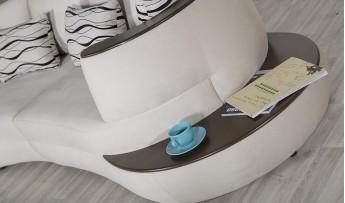 inegöl mobilyasısı Kuğu Koltuk Takımı (4+2+1+Puf)