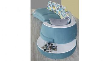 inegöl mobilyasısı Kuğu Koltuk Takımı Mavi