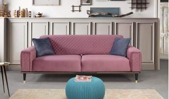 inegöl mobilyasısı Kuka Koltuk Takımı (3+3+1)