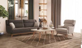 inegöl mobilyasısı Lena Koltuk Takımı (3+3+1)