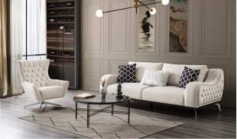 inegöl mobilyasısı Loren Koltuk Takımı (3+3+1+1)