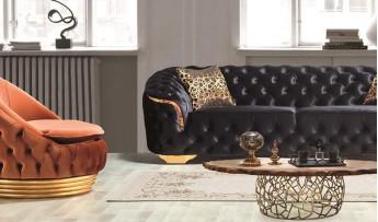 inegöl mobilyasısı Lotus Lüx Koltuk Takımı (3+3+1)