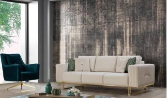 inegöl mobilyasısı Mina Koltuk Takımı (3+3+1)