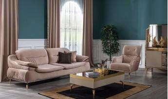 inegöl mobilyasısı Majestic Koltuk Takımı (3+3+1)