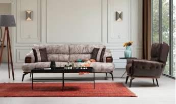 inegöl mobilyasısı Monaco Koltuk Takımı (3+3+1)