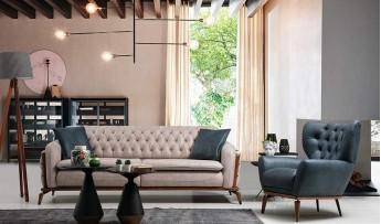 inegöl mobilyasısı Napoli Koltuk Takımı (3+3+1)