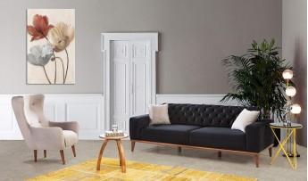 inegöl mobilyasısı Nero Koltuk Takımı(3+3+1)