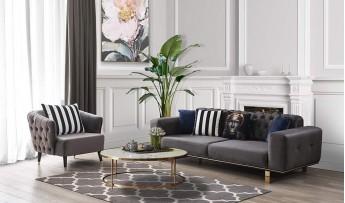 inegöl mobilyasısı Nova Koltuk Takımı (3+3+1)