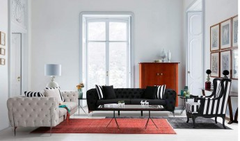 inegöl mobilyasısı Odessa Klas Koltuk Takımı (3+3+1)