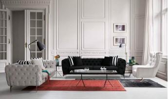 inegöl mobilyasısı Odessa Koltuk Takımı(3+3+1+1)