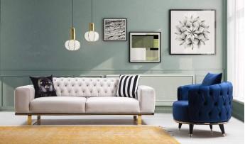 inegöl mobilyasısı Oscarex Koltuk Takımı (3+3+1+1)
