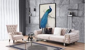 inegöl mobilyasısı Paris Koltuk Takımı (3+3+1)