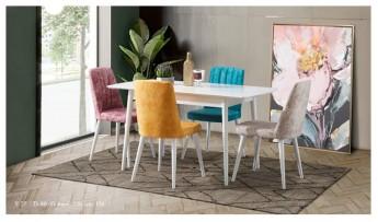 Bodrum Mutfak Masası (Beyaz)