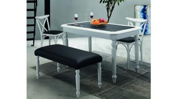inegöl mobilyasısı Queen Lüx Mutfak Masa Takımı (2055)