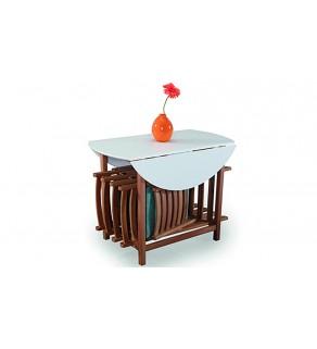 Doha Katlanır Mutfak Masası Takımı (2070)