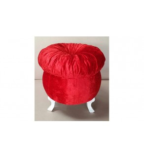 Kırmızı Mantar Puf