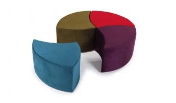 inegöl mobilyasısı Dörtlü Mantar Puf