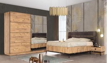 inegöl mobilyasısı City Yatak Odası Takımı (Bazalı)