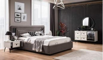 inegöl mobilyasısı Carmen Yatak Odası Takımı (Bazalı)