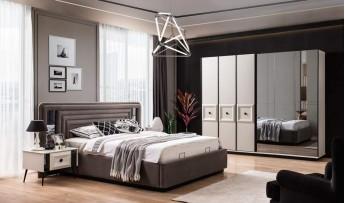 Carmen Yatak Odası Takımı (Bazalı)
